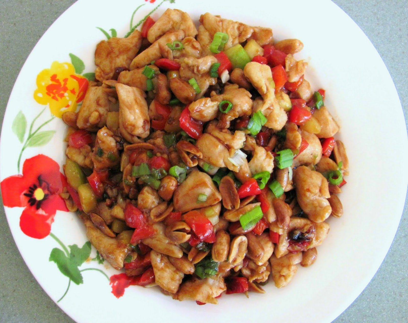 kung pao chicken w peanuts  reunion chinese restaurant